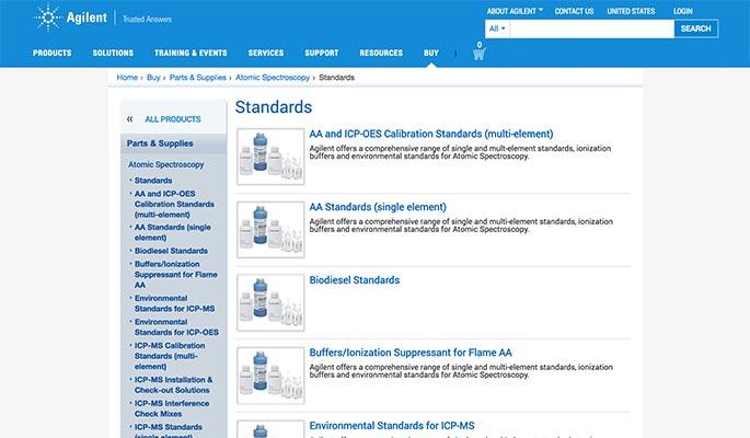 Agilent Online Store