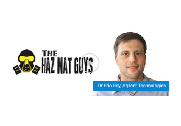 Dr Eric Roy speaks to The HazMat Guys on Spatially offset Raman spectroscopy
